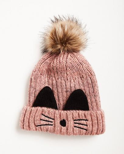 Mütze mit Katzenöhrchen
